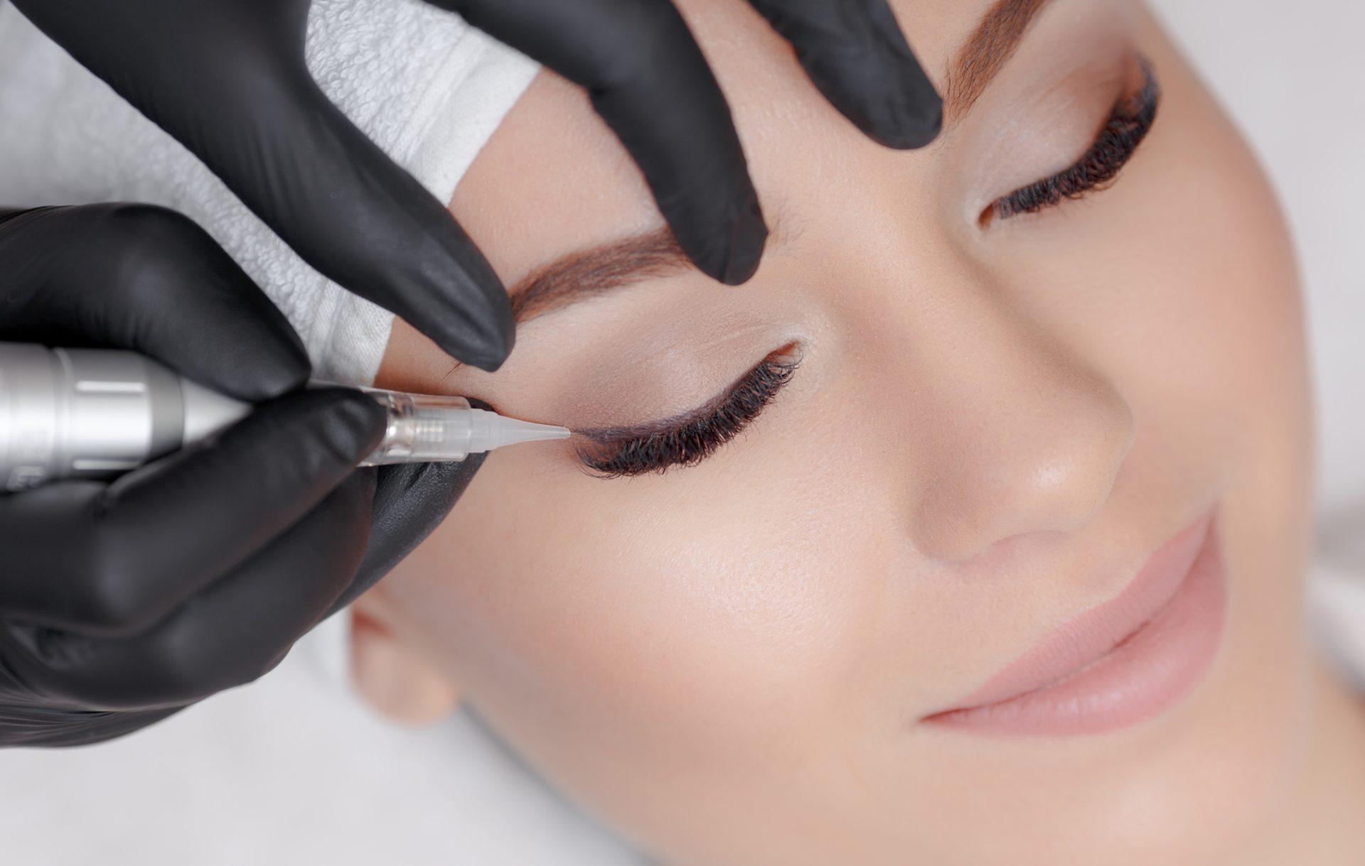 Permanent Make-Up für AUGENLIDER